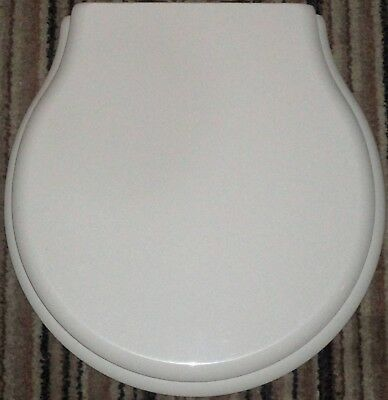 Ideal Standard SPACE Resin Replica Seat, Cover And CP Hinges  OLD ENGLISH WHITE • 179£