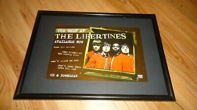 £11.99 • Buy THE LIBERTINES The Best Of-framed Original Advert
