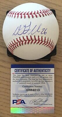 $ CDN211.36 • Buy DJ LeMAHIEU WITH #26 LICENSED PSA/DNA AUTHENTICATED SIGNED NEW MANFRED BASEBALL