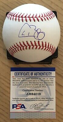 $ CDN105.67 • Buy Cavan Biggio Licensed Psa/dna Authenticated Signed New Major League Baseball