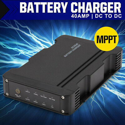 AU199.99 • Buy 40A DC To DC Dual Battery Vehicle Charger 12V MPPT 4 Stage ATV 4WD Boat Caravan