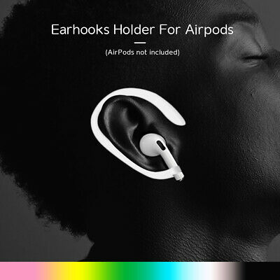 $ CDN3.28 • Buy 1 Pair Earhook Holder For Apple AirPods Strap Silicone Sports Anti-lost Ear Hook