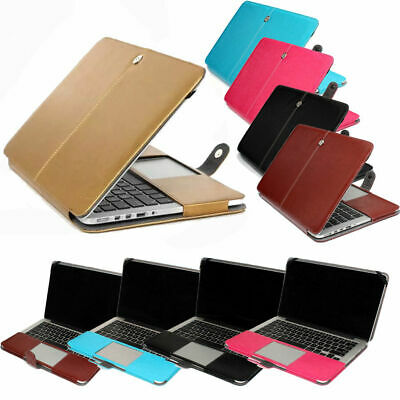$18.55 • Buy PU Leather Laptop Sleeve Bag Case Cover For MacBook 12  Air Pro Retina 11 13 15
