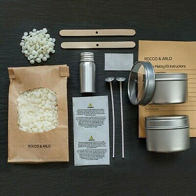 Candle Making Kit | Choose Your Fragrance Oil | Make Your Own Soy Candles • 21£