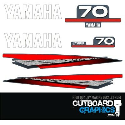 AU65.51 • Buy Yamaha 70hp 2 Stroke Outboard Decals/sticker Kit