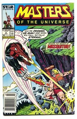 $35 • Buy Masters Of The Universe #8 1986  Late Issue-Marvel