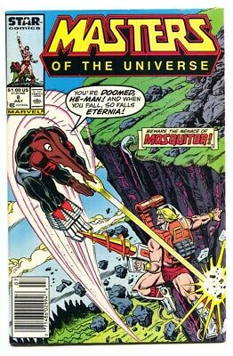 $56 • Buy Masters Of The Universe #8 1986  Late Issue-Marvel