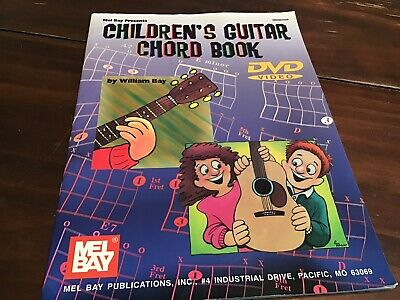 Childrens Guitar Chord Book, Bay, William • 6.45£