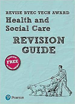 £9.23 • Buy Revise BTEC Tech Award Health And Social Care Revision Guide With Free Online E