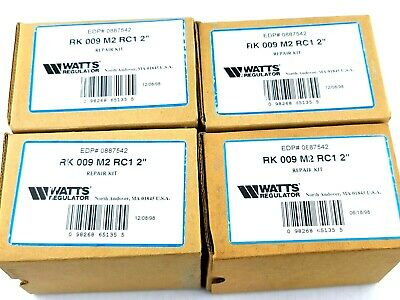 $104 • Buy NEW Watts 0887542 Repair Kit For Rubber Check 1, RK 009 M2 RC1 2 , Lot Of 4