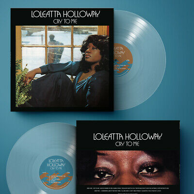 £28.77 • Buy Loleatta Holloway - Cry To Me Vinyl Record LP Clear Color Variant OBI Strip Soul