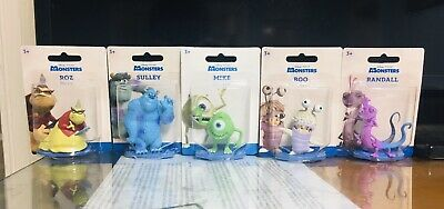 """Disney Monsters Inc Figure 2.5-3"""" ROZ RANDALL SULLEY Cake Toppers Complete Set. • 10.85£"""
