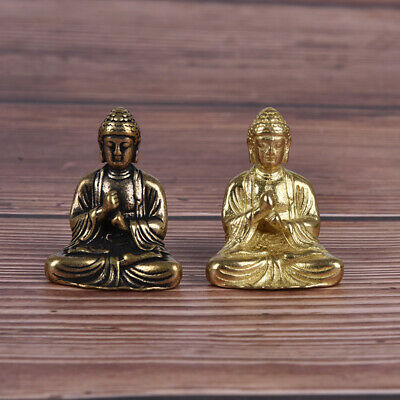 2 Colors Mini Size Thai Style Buddha Statue Home Decoration Small Ornaments_HVPT • 3.64£