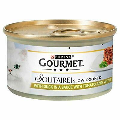 Gourmet Solitaire Duck And Vegetables, 85 G - Pack Of 12 • 11.18£