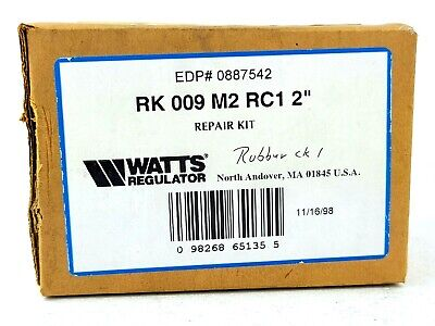 $27 • Buy NEW Watts 0887542 Repair Kit For Rubber Check 1, RK 009 M2 RC1 2  RK009M2RC1