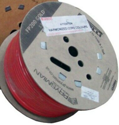 Prysmian Fp200 2.5mm 4 Core Gold Fire Cable 10m (red) • 13.95£