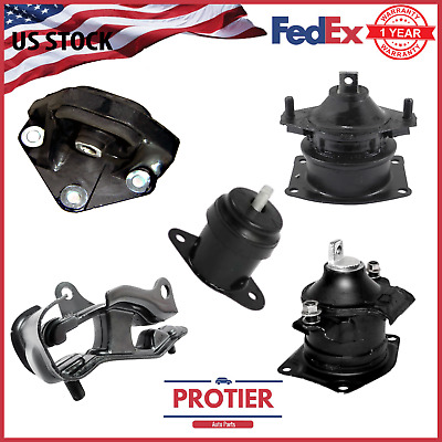 $63.99 • Buy Engine Motor & Trans Mount 5PCS Set For 2004-2006 Acura TL 3.2L For Auto Trans