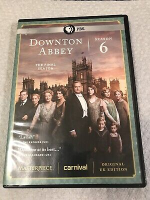 Masterpiece: Downton Abbey Season 6 + The Manners Of Downton • 17.45£
