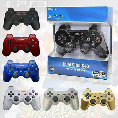 PS3 Controller PlayStation 3 DualShock Wireless SixAxis Controller GamePad • 10.99£