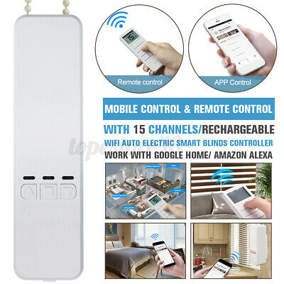 £55.19 • Buy WIFI Automatic Electric Smart Home Motorized Window Blinds APP Remote Control ﹏