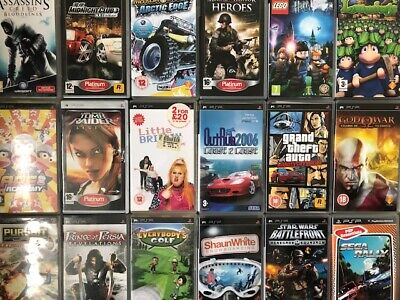 £12.99 • Buy Sony PSP - Lots Of Titles Available - All Tested - Boxed With Instructions