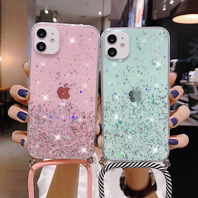 AU5.23 • Buy For OPPO Realme 5 6 Pro A5 A9 2020 A92 F11 Lanyard Star Bling Glitter Case Cover
