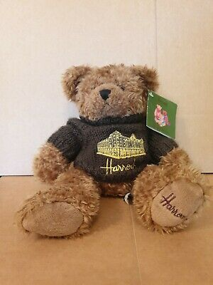 Contemporary Harrod Teddy Bear With Harrods Sweater - Rare • 28£