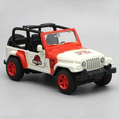 Jurassic Park Jeep Vehicle Toy Model Dinosaurs Jeep Car Truck 1:32 Diecast  • 27.99£