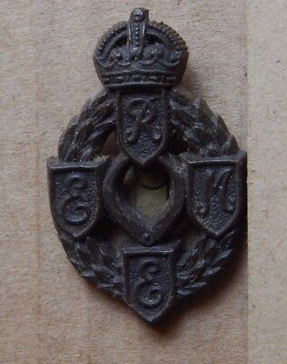 WW2 REME Royal Electrical & Mechanical Engineers Economy Badge Genuine Badge V2 • 19.26£