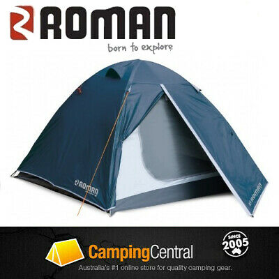 AU69.99 • Buy Roman Escape 2 Person Man Tent Camping Companion Compact Hiking Tent