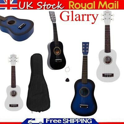 21  23  Inch Wooden Acoustic Guitar Children Toy Gift W/Pick Strings For Kids UK • 13.99£