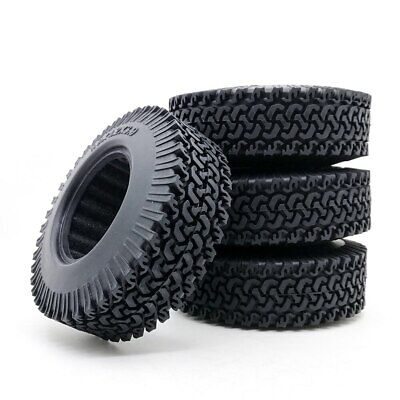"""£12.99 • Buy 1:10 Rock Crawler Rubber Wheels Tire 1.9"""" 98mm Tyre For Tamiya Truck Axial SCX10"""