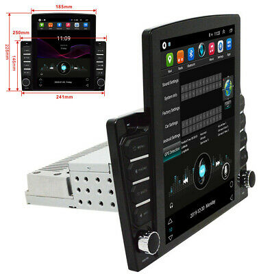 AU285.02 • Buy Single DIN 10.1in Touch Screen Car FM Stereo Radio 1+16G GPS WiFi + Rear Camera