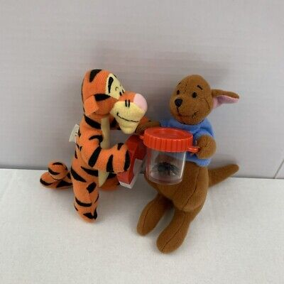 Mcdonalds Happy Meal Winnie The Pooh Tigger & Roo Toys (2002) • 4.49£