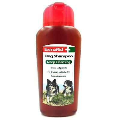 £7.99 • Buy Exmarid Deep Cleansing Dog Shampoo For Dry Itchy Skin Cleans & Protects
