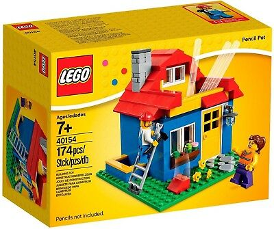 £21.82 • Buy LEGO 40154 Pencil Pot House Type Pen Stand New