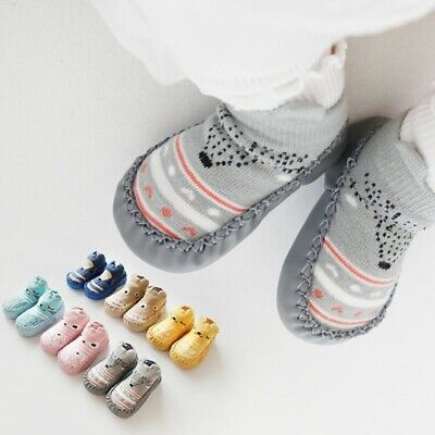 Infant Baby Girl Boy Toddler Anti-slip Warm Slippers Socks Crib Shoe Boot HHH! • 4.40£