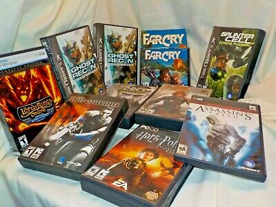 AU50.51 • Buy Lot Of 10 PC CD ROM Games Assassins Creed Harry Potter Far Cry 5 CD Set Excellnt