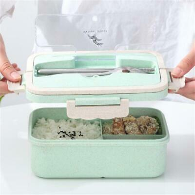 AU13.71 • Buy Wheat Straw Insulated Lunch Box Thermal Bento Food Container Storage Box JH