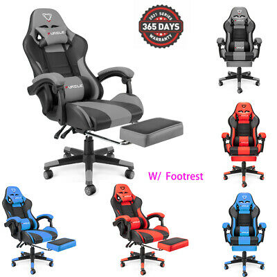 AU149.99 • Buy FURGLE Gaming Office Chair Racing Executive Footrest Computer Seat PU Leather