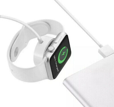 $ CDN15.38 • Buy GENUINE APPLE WATCH MAGNETIC CHARGING CABLE CHARGER FOR IWATCH 1/2/3/4 SERIES