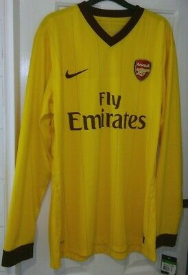 Arsenal Nike Player Issue L/S Domestic 3rd Shirt 2012/2013 Season. Size XL. BNWT • 69.99£