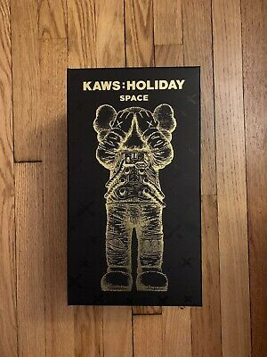 $1250 • Buy KAWS Holiday Space Chrome Gold PRE ORDER Ships September Rare Limited Bearbrick