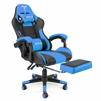 AU152.83 • Buy FURGLE Gaming Office Computer Racing Chair PU Leather Executive Racer Footrest