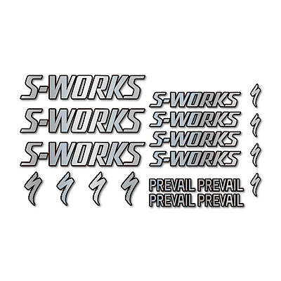 $ CDN32.54 • Buy STAR SAM® Bike Frame Stickers SPECIALIZED S-WORKS PREVAIL Adhesives For Bikes
