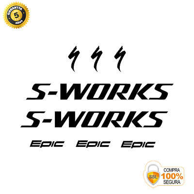$ CDN30.41 • Buy STAR SAM® Bike Frame Stickers SPECIALIZED S-WORKS EPIC 2 Adhesives For Bikes