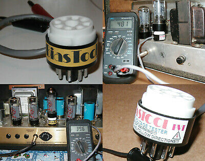 $ CDN88.19 • Buy Tube Amplifier Bias Kit 1 By SRS- Plate Voltage And Current Probe MADE IN USA