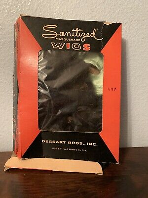 $ CDN61.17 • Buy VTG Sanitized Masquerade Wigs By Dessart Bros, Inc. Model No 215 , Witch Wig