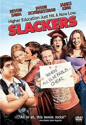 Slackers - Devon Sawa Jason Schwartzman James King - Used Dvd Movie Disc • 3.07£