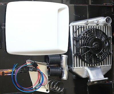 AU699 • Buy Top Mount Intercooler Kit For Toyota Landcruiser 80 /105 Series 1HZ 4.2L Diesel